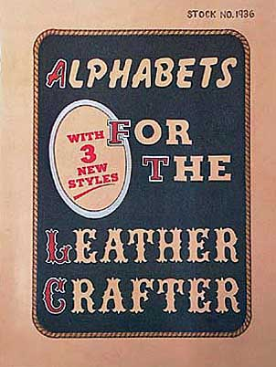 Bilde av boken Alphabets for the leathercrafter