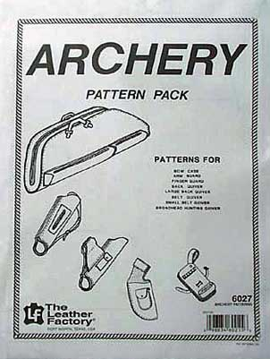 Bilde av mønsterhefte Archery pattern pack