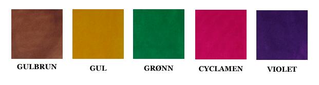 Fargeprøver Narvsverte