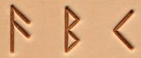 Bokstavsett, runer, 20 mm