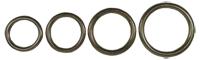 Bilde av runde ringer, gammel messing