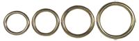 Bilde av runde ringer, støpt messing