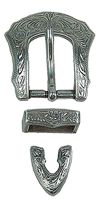 Spenne Fb 144, gammel nikkel, 20 mm
