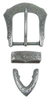 Spenne Fb 144, gammel nikkel, 32 mm
