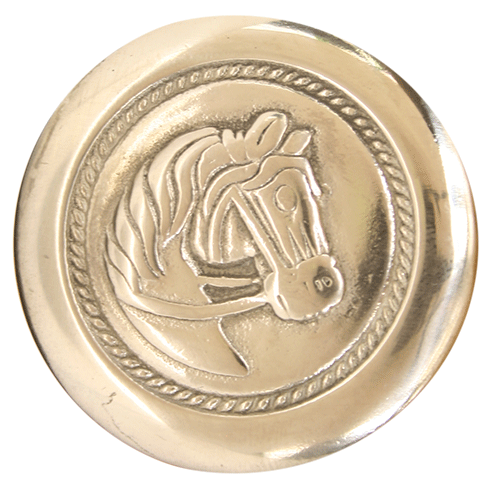 WRF Rosett med hest (Rustfri)