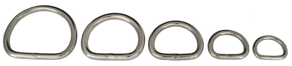 D-ring WRF 3250  Rustfritt stål