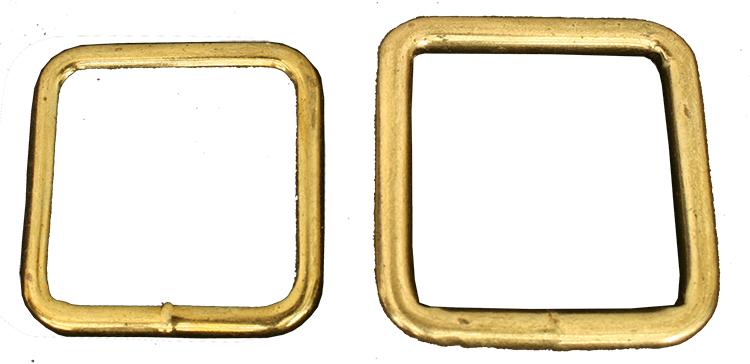 Firkant ring, sveiset formessinget stål