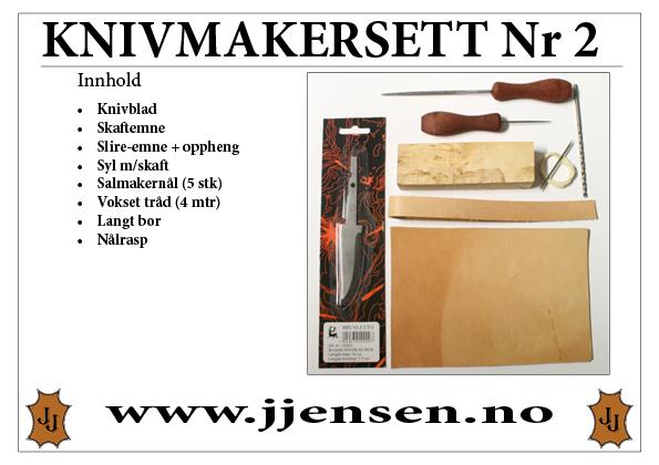 Knivmakersett Nr 2