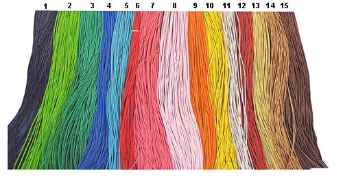 Bilde av fargede lærlisser