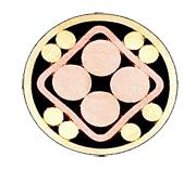 Mosaikkpin 511