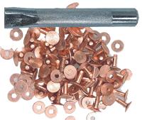 Bilde av kobbernitter med verktøy