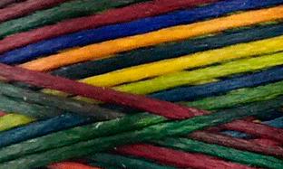 Vokset syntettråd, kraftig, 124