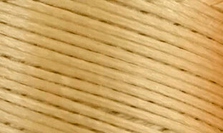 Vokset syntettråd, kraftig, beige 107